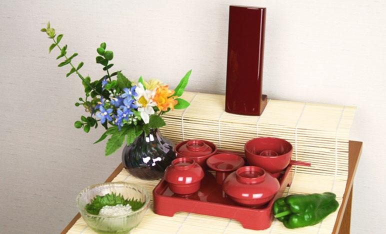 曹洞宗 初盆 飾り